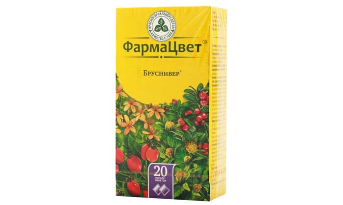 Бруснивер (чай) при циститі – інструкція із застосування, відгуки, аналоги, форма випуску, побічні дії, протипоказання, ціна