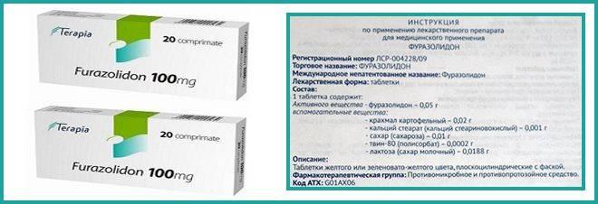 Лікування циститу недорогим ліками Фуразолідон