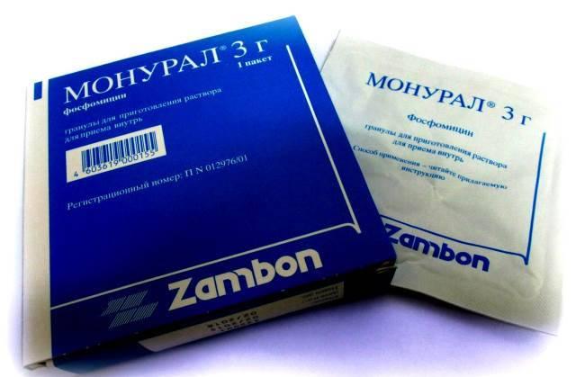 Монурал: інструкція по застосуванню при циститі